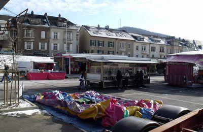 La fête foraine d'hiver à Algrange en 2012