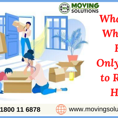 What to Do When You Have Only a Week to Relocate Home?