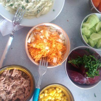Salade composée (Recette)
