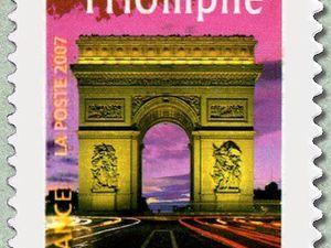 L'arc de triomphe (place de l'étoile)