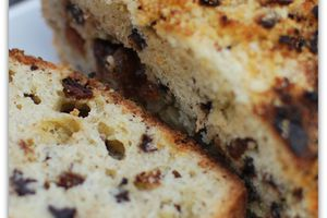 Crumble Cake Pomme - Noisettes - Raisins - Chocolat