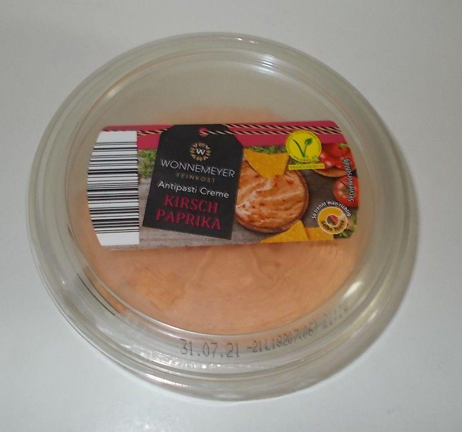 Aldi Wonnemeyer Antipasti Creme Kirsch Paprika