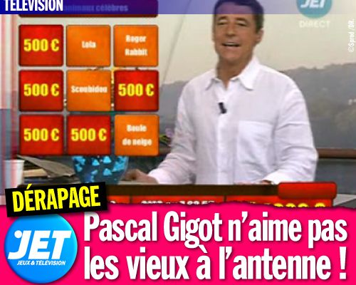 Jet TV : Pascal Gigot n'aime pas les vieux à l'antenne !