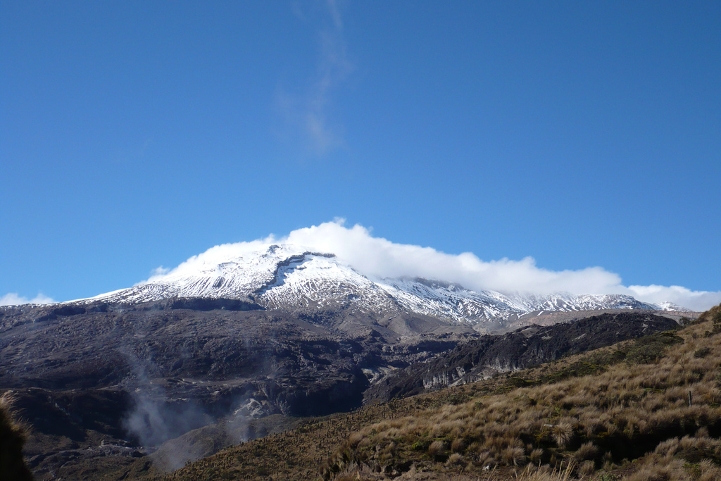 Nevado del Ruiz - archive photo / Edgard
