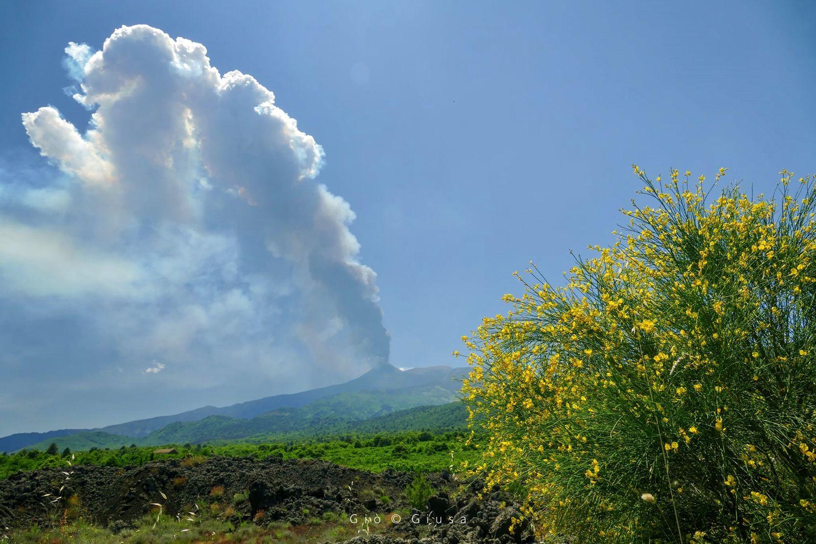 Etna, Stromboli, and Semisopochnoi activity.