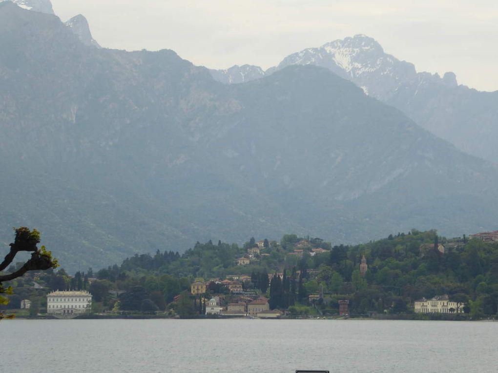 Les Lacs Italiens,du Majeur au lac de Côme,en passant par Lugano,au guidon de notre tandem.