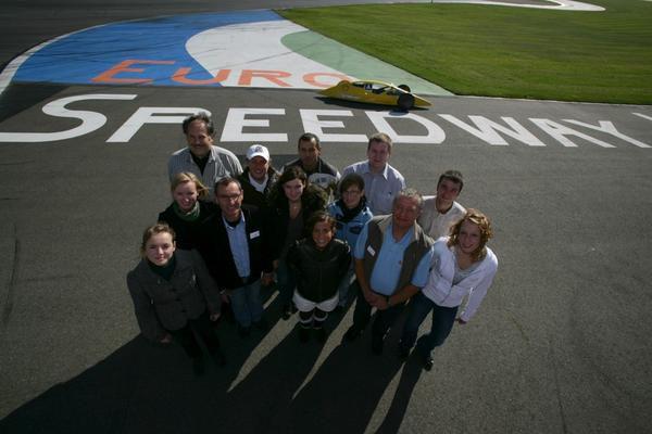 Quelques photos de l'EuroSpeedway de Lausitz, où se déroulera le SEM 2009.