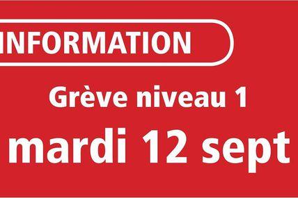 Metz  Réseau LE MET' Service minimum de niveau 1