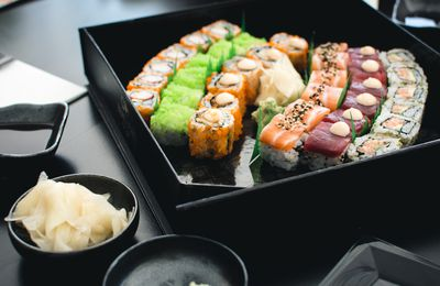 Bon appétit - Nourriture - Sushis - Asia Food - Photographie - Wallpaper - Free