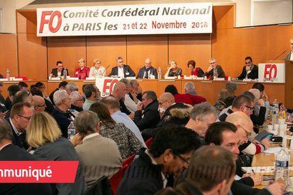Election d'Yves Veyrier au poste de Secrétaire général de Force Ouvrière