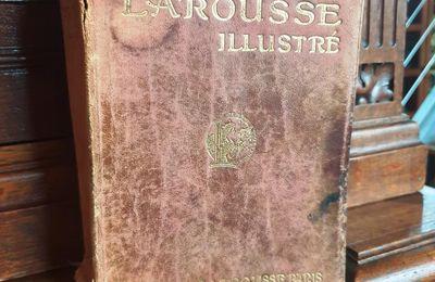 Petit Larousse Illustré 1913 reliure cuir basane - 30 euros