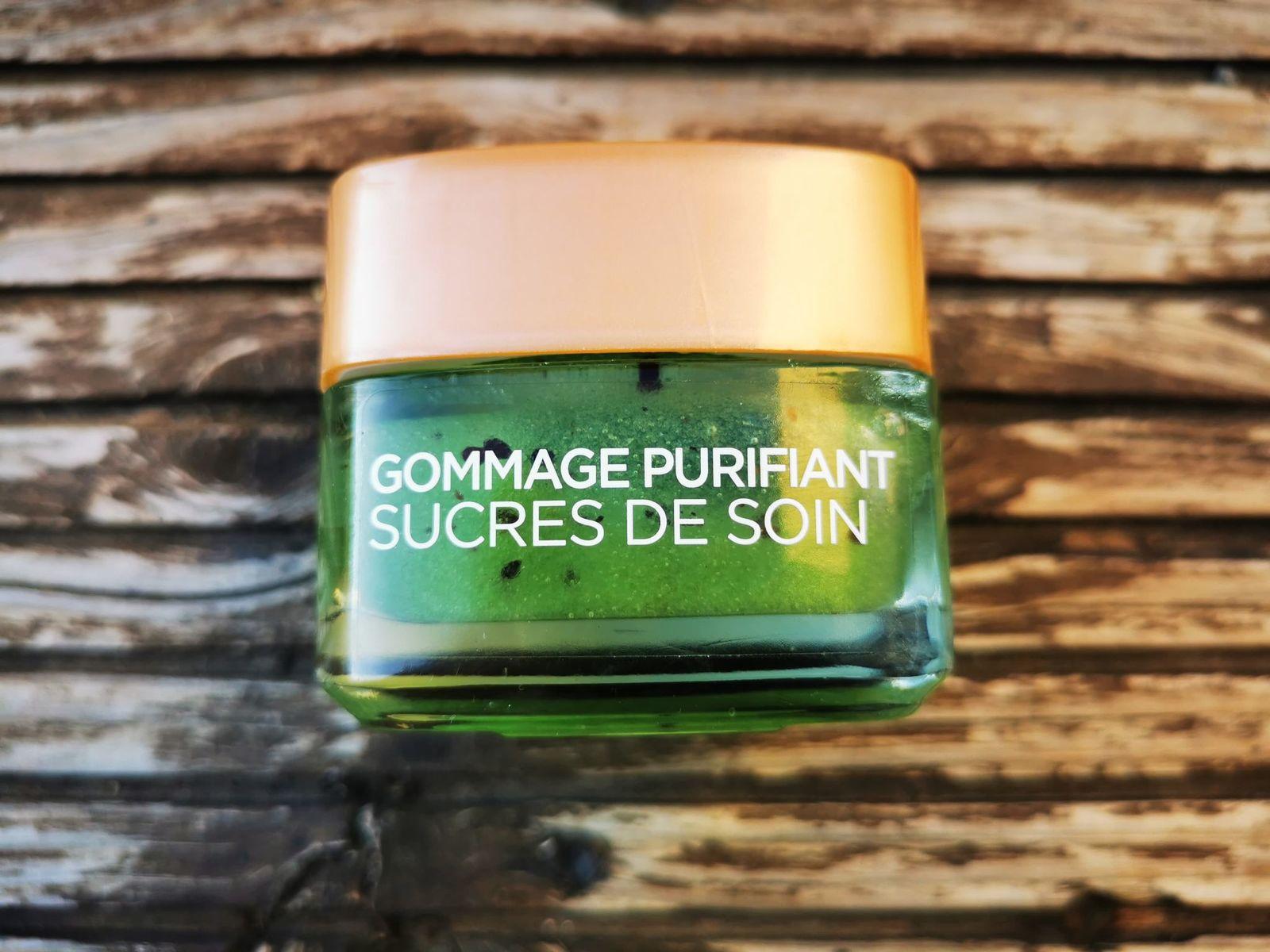 Je teste le gommage purifiant Sucres Soin de L'oréal Paris