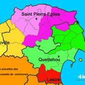 Le Val de Saire, un bassin versant, un canton - Le Val de Saire vu par Ph L