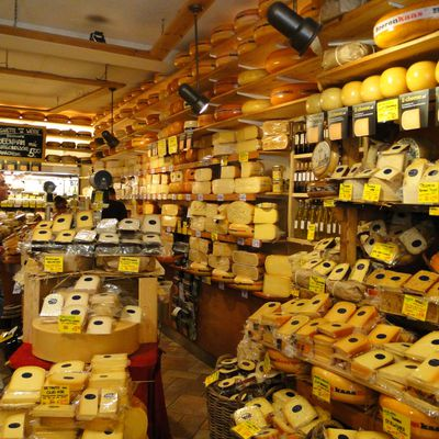 Amsterdam et ses fromages