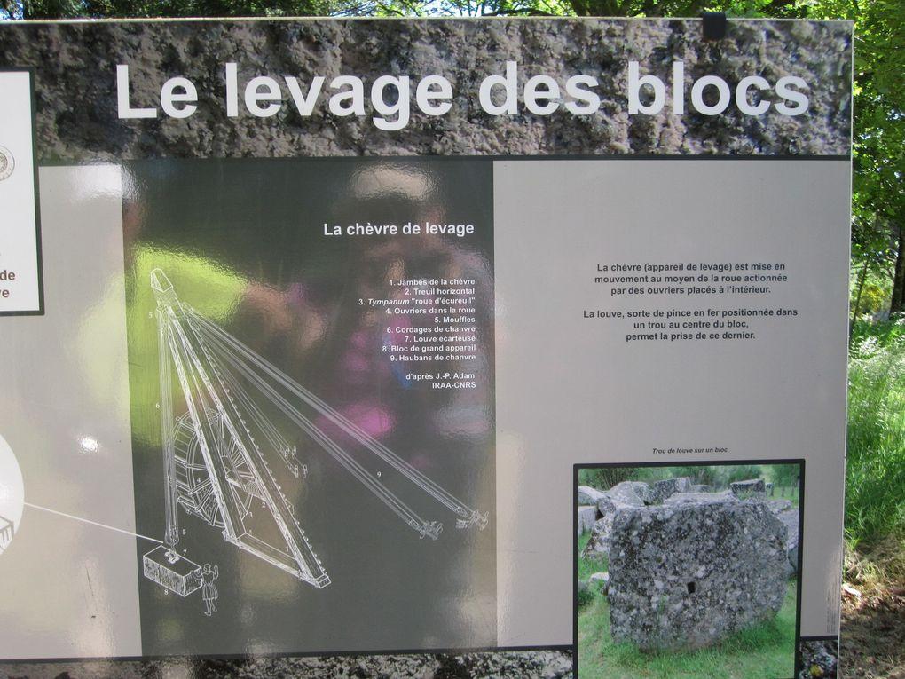 La Corrèze jour 3; variante pour le groupe 2