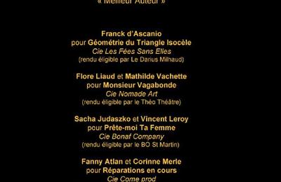 Nominées aux P'tits Molières 2016...