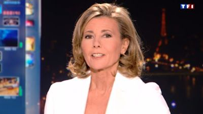 2013 02 17 - CLAIRE CHAZAL - TF1 - LE 20H @20H00