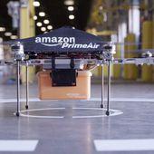 Amazon podrá repartir paquetes con drones