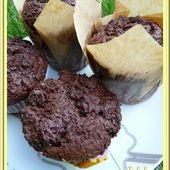 Muffins corsés au chocolat - Oh, la gourmande..