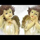 2 ANGES DECORATIFS attendent dans les nuages - Déco & collection - [PEARLTV.FR]