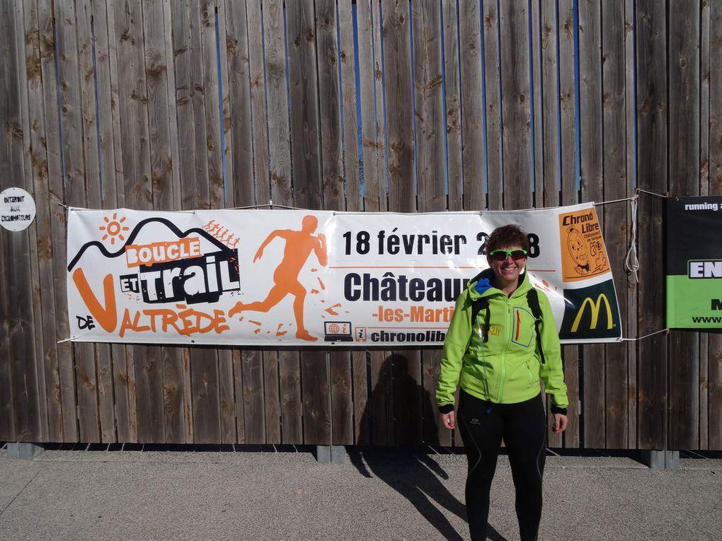 Mon premier trail à la boucle de Valtrède (Chateauneuf-les-Martigues - 13) le 18/02/2018