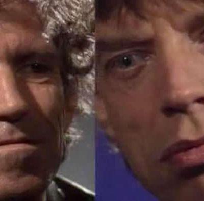 """L'interview """"Jumeaux"""" de Mick Jagger et Keith Richards"""