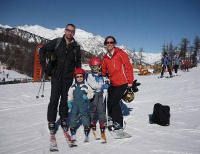 Un petit tour au ski, ca fait du bien