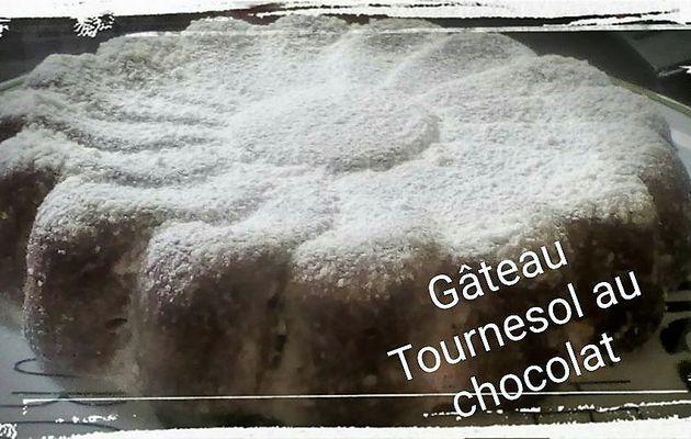 Gâteau Tournesol au chocolat