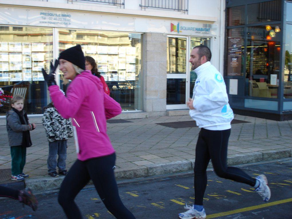 La Corrida du Pouliguen le 19 décembre 2009.Frisquet...!