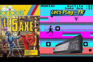 Amstrad CPC - Je redécouvre 36 après sa sortie Le 5eme Axe de Loriciels (1985)