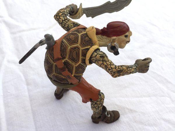 tortue pirate figurine Papo jouet pour enfant, sur charlotteblablablog