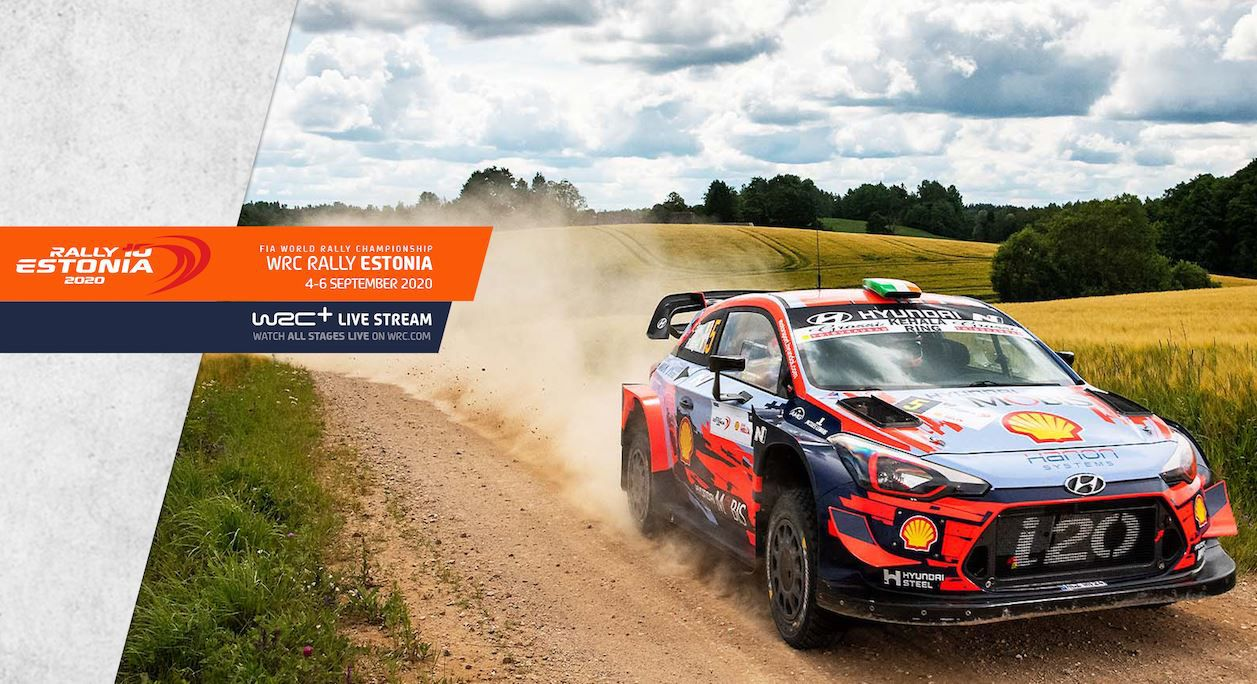 Le Rallye d'Estonie en direct ce week-end sur Canal Plus Décalé !