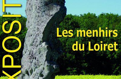 """EXPOSITION Les Menhirs du Loiret à Meung-sur-Loire / Espace culturel """"La Monnaye - 6 mai au 6 juin 2021"""