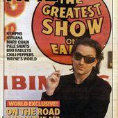 U2 -Magazine NME -21 Mars 1992 - U2 BLOG