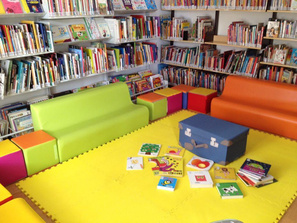 La bibliothèque Traverse du Centre (1990-2020) jusqu'au déménagement