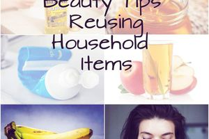 12 beauty uses of common household products
