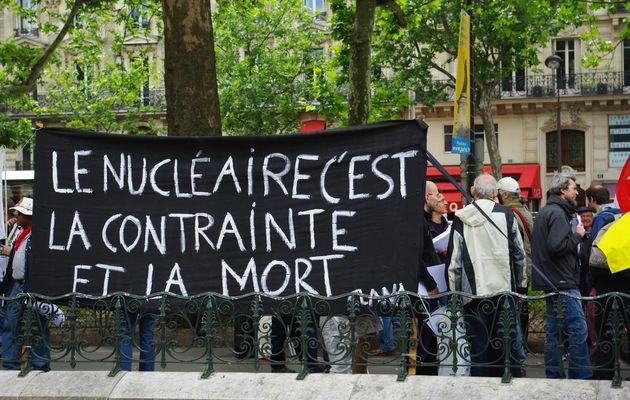 Photos Manifestation anti-nucléaire, Paris, 11/06/2011
