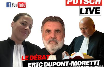 Eric Dupond-Moretti, , garde des Sceaux : la fausse bonne idée ? Un débat VIDEO