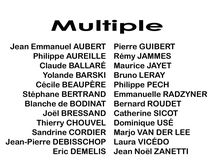 Multiple : du 8 mars au 1er avril 2017