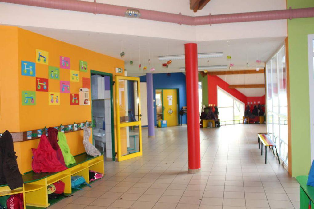 Une maternelle en couleur...