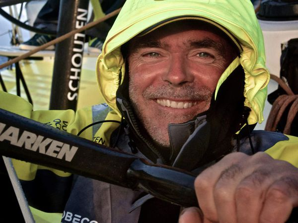 Stefan Coppers/Team Brunel/Volvo Ocean Race - Matt Knighton/Abu Dhabi Ocean Racing/Volvo Ocean Race - Stefan Coppers/Team Brunel/Volvo Ocean Race