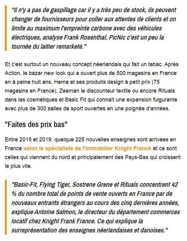 Dans les médias (225) : BFM Business : Action, Hema, Basic-Fit... Pourquoi les Français adorent les concepts néerlandais ?