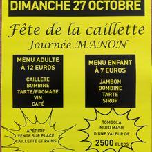 Journée caillette St Germain 27 octobre 2019