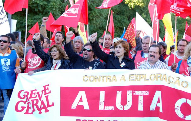 Le Parti communiste portugais voit dans les millions de travailleurs qui ont participé à la grève générale une force immense pour mettre en échec le «Pacte d'agression»