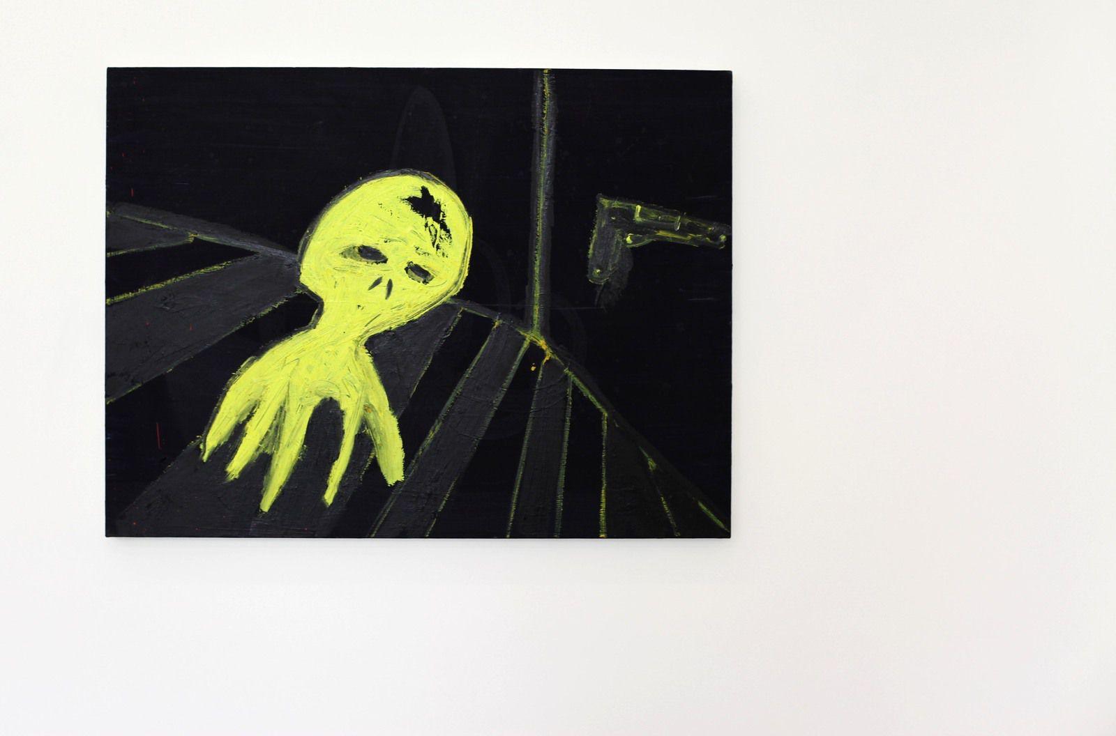"""""""Goul"""", 2021 de Marcus JAHMAL - Courtesy de l'artiste et de la galerie Almine Rech © Photo Éric Simon"""