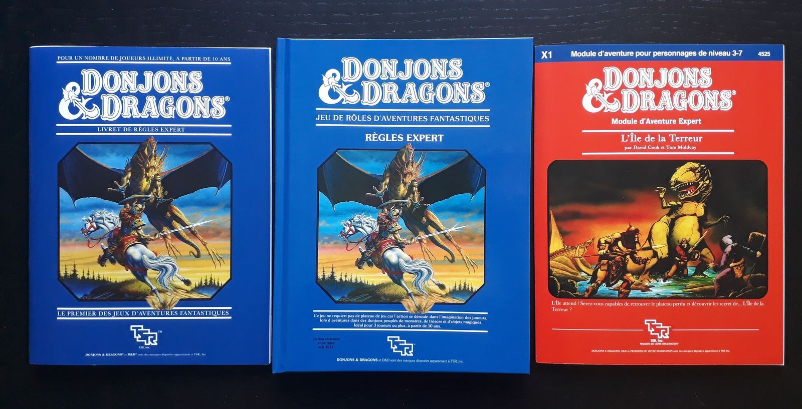 D&D règles Expert... la version livre !