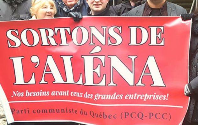 Un nouvel ALENA qui resserre les griffes des entreprises sur les travailleuses et les travailleurs - Déclaration du Parti communiste du Canada