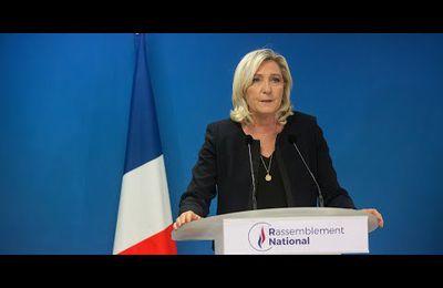 Marine Le Pen sera la future présidente de la France !