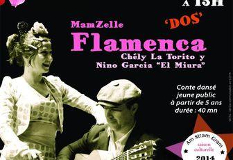 """MamZelle FlamenKa """"DOS """" @ Festival Am Stram Gram"""