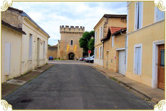 Diaporama rempart et château de Rions